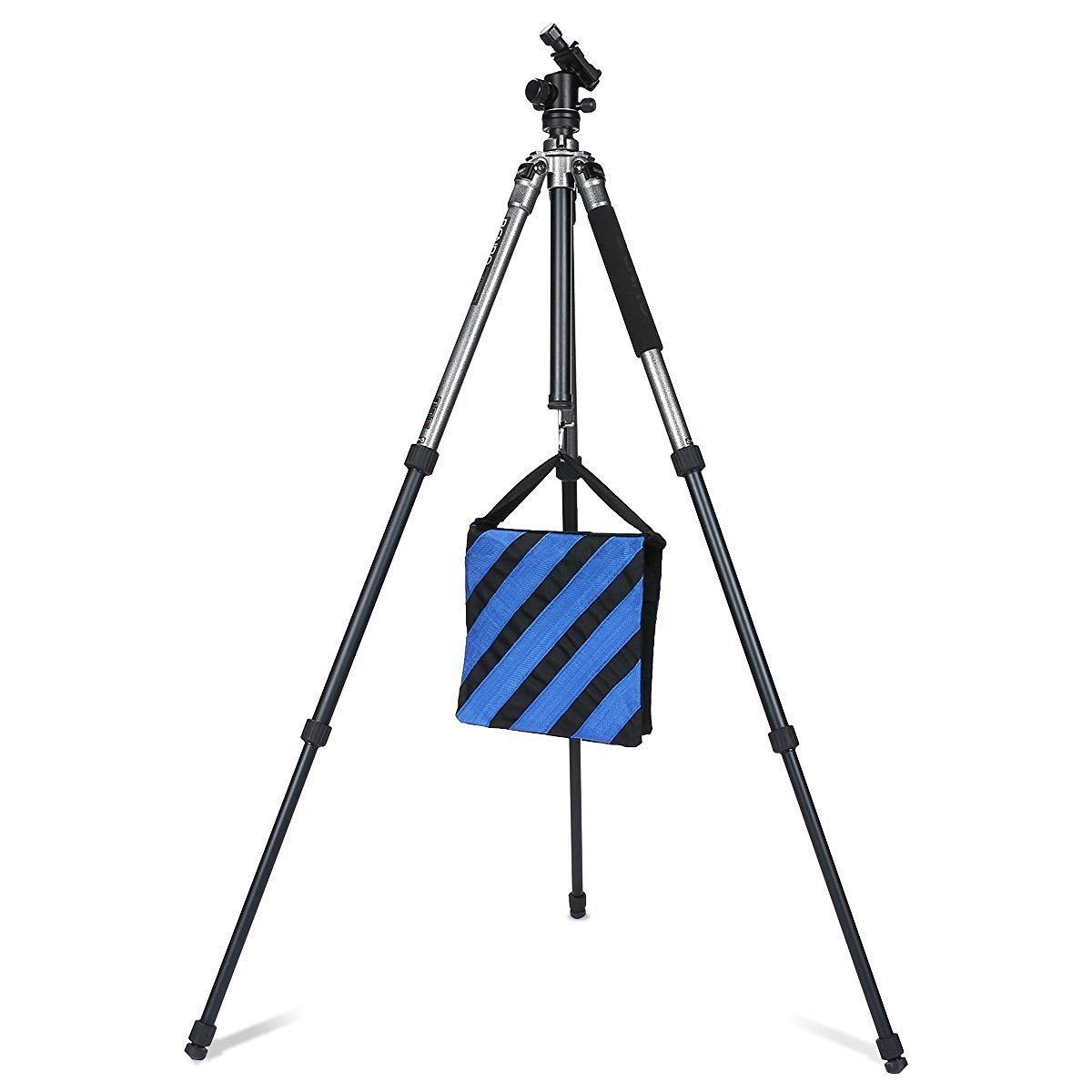 4 Pack // Set CAM-ULATA Heavy Duty Fotografica Sandbag Studio Video Sacco di Sabbia per la Fotografia Film Foto Video Studio Luce di Scena Supporti Boom Stand Tripod Blu Sandbag