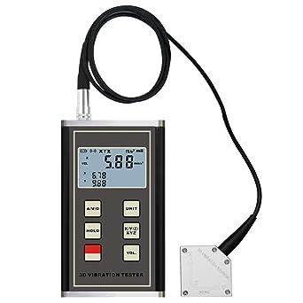 Medidor Multi Digital vibración 3 Axis piezoeléctricos acelerómetro