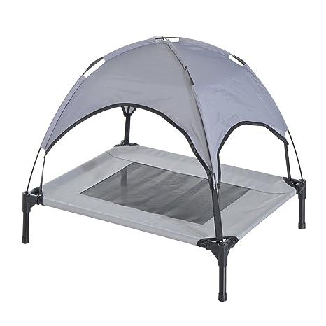 Amazon.com: Perro cama elevada camas grandes plegable cuna ...