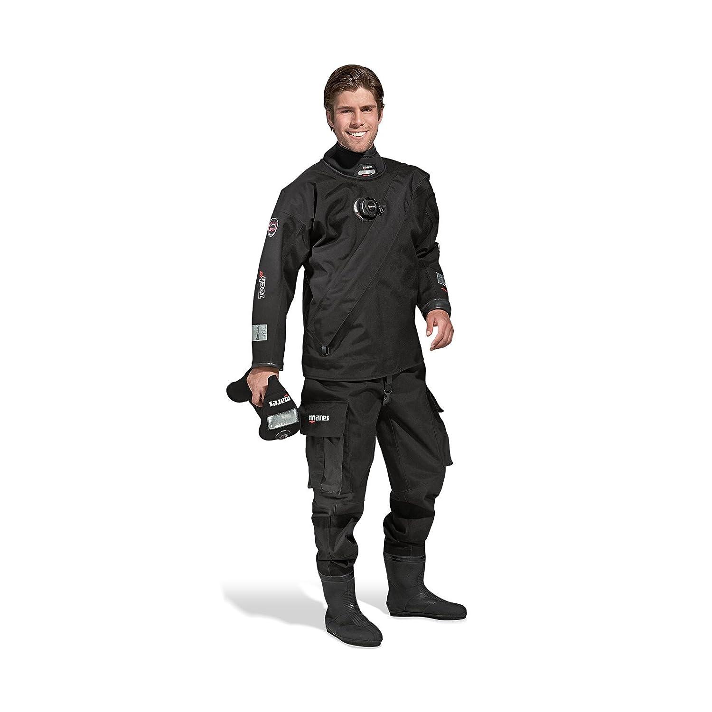 Mares Tech Fit LX Dry Suit-schwarz SMK, XS Größe 24