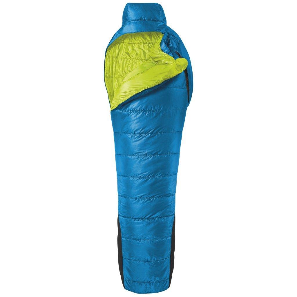 SALEWA Schlafsack Spirit +5 SB - Saco de dormir momia para acampada, color azul, talla Izquierda: Amazon.es: Deportes y aire libre