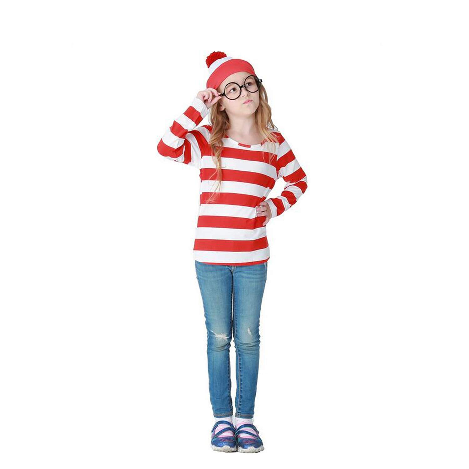 Halloween Cosplay Costumes,GMIOWEU Shirt Costume, Adult Funny Sweatshirt, Hoodie Outfit Glasses Hat Shirt Suits