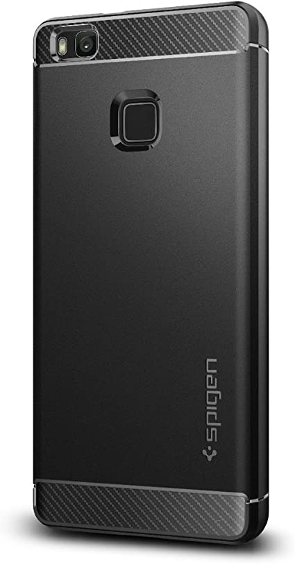 Funda Huawei P9 Lite, Spigen [Rugged Armor] Resistente [Negro ...
