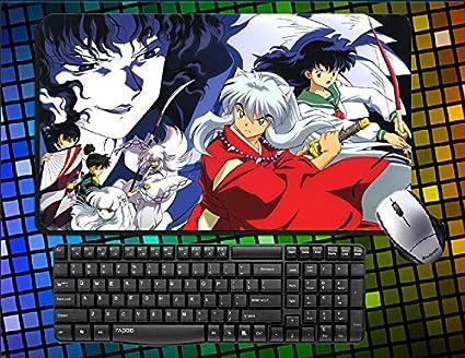 Hot Anime Inuyasha/Inuyasha: A Feudal cuento de hadas Inu Yasha Kagome Higurashi sesshōmaru grande Mouse Pad Anime Escritorio & Mouse Pad alfombra de juegos de mesa: Amazon.es: Oficina y papelería