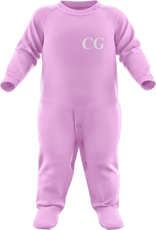 Personalised Baby Grows Baby Girl Purple Print House Personalised Baby Gifts Personalised Baby Grow Pink Blue Black Red Custom Initials Baby Boy Personalised Romper Suit