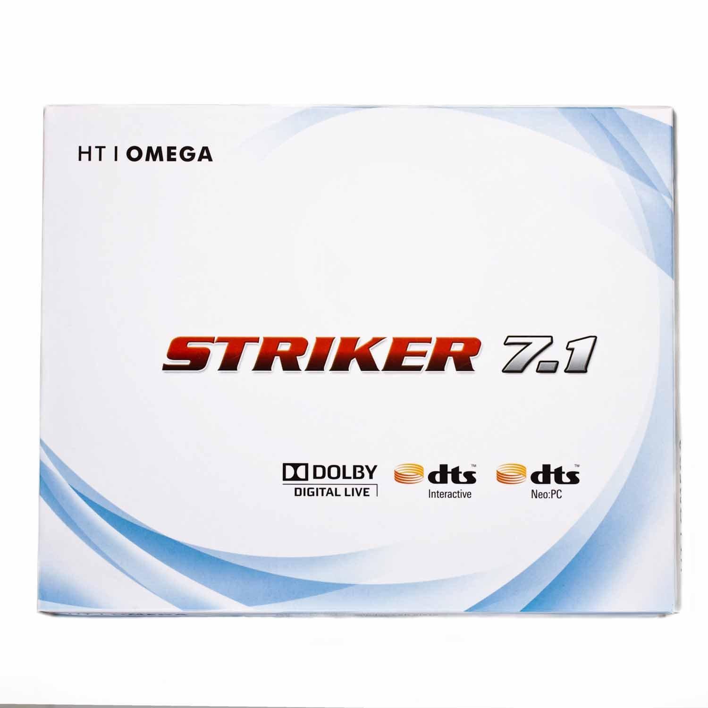 HT OMEGA STRIKER 7.1 Channel PCI Sound Card