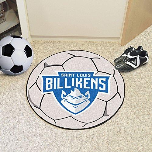 St. Louis University Soccer Ball Floor Rug Mat (Rug Soccer University Ball)