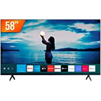 "Smart TV LED 58"" 4K UHD Crystal Samsung UN58TU7020GXZD, Visual Livre de Cabos, Bluetooth, Processador Crystal 4K, 2 HDMI…"