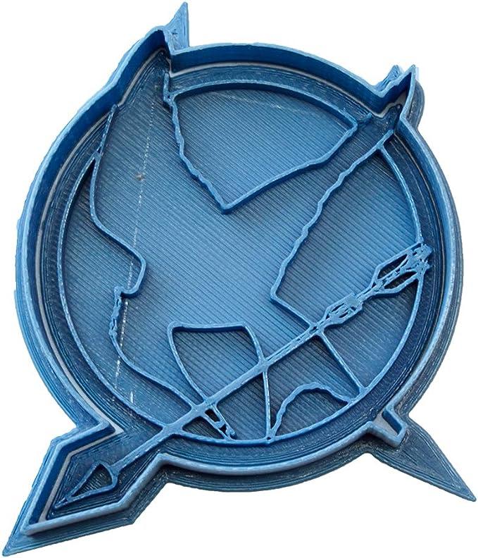 Cuticuter Los Juegos del Hambre Sinsajo Cortador de Galletas, Azul ...