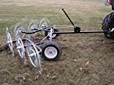 Tuff Yard Equipment Acreage Rake, 60-Inch ACR-500T