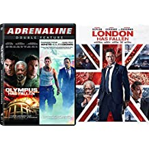 London Has Fallen / Olympus Has Fallen + White House Down Triple Feature Action Bundle DVD Movie 3 Film Set