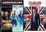 London Has Fallen / Olympus Has Fallen + White House Down Triple Feature Action Bundle DVD Movie 3 Film Set