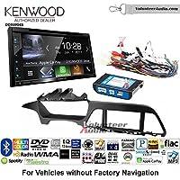 Volunteer Audio Kenwood Excelon DDX6904S Double Din Radio Install Kit with Satellite Bluetooth & HD Radio Fits 2015 Hyundai Sonata