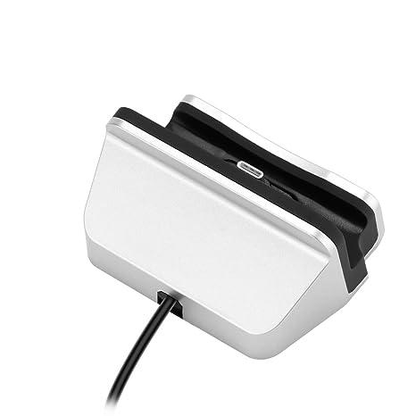 ONEVER Tipo C de Escritorio del Muelle del Cargador USB C Soporte de Carga Estación para Samsung Galaxy S6 HTC Pixel (1PC)