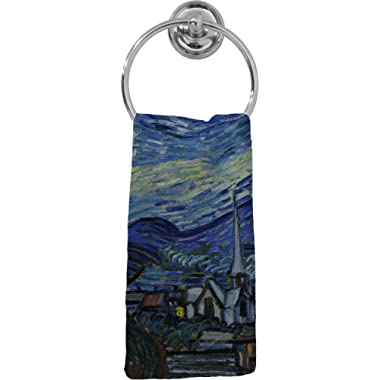 RNK Shops The Starry Night (Van Gogh 1889) Hand Towel - Full Print