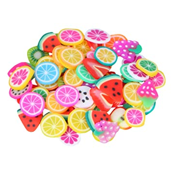 40g Polymer Clay Assorted Animal Slices Over 800 Pieces