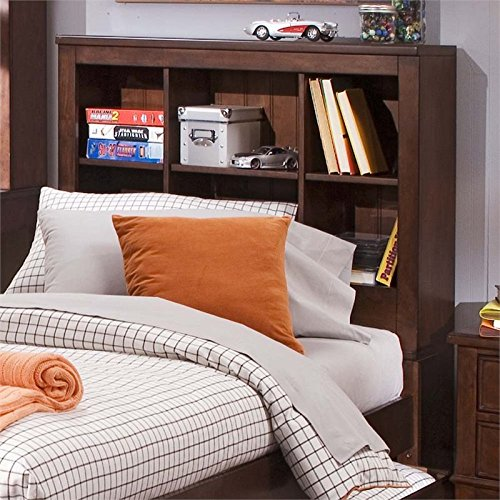Liberty Chelsea Square - Liberty Furniture 628-BR12B Chelsea Square Full Bookcase Headboard, 58