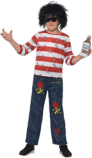 Smiffy/'s Officially Licensed David Walliams Deluxe Ratburger Costume