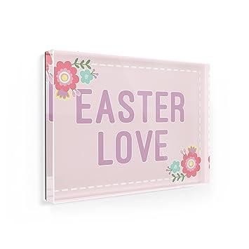 Amazon Fridge Magnet Easter Love Easter Scrapbook Flowers