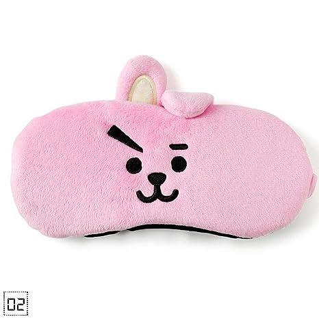 Kinbelle Kpop BTS BT21 Bangtan - Máscara de dormir para niño