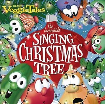 049069fe1c90e Veggietales - Incredible Singing Christmas Tree - Amazon.com Music