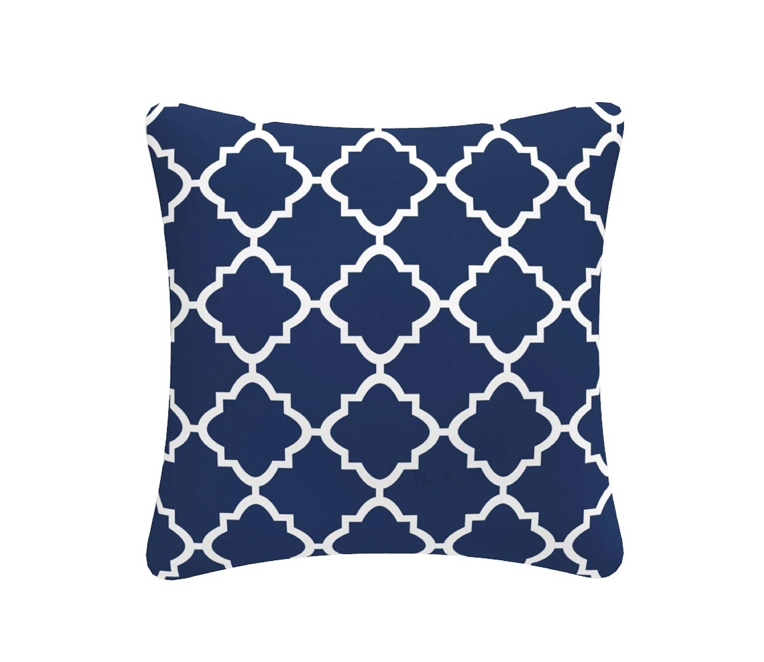 FBTS Prime Outdoor Decorative Pillows with Insert Navy Patio ...