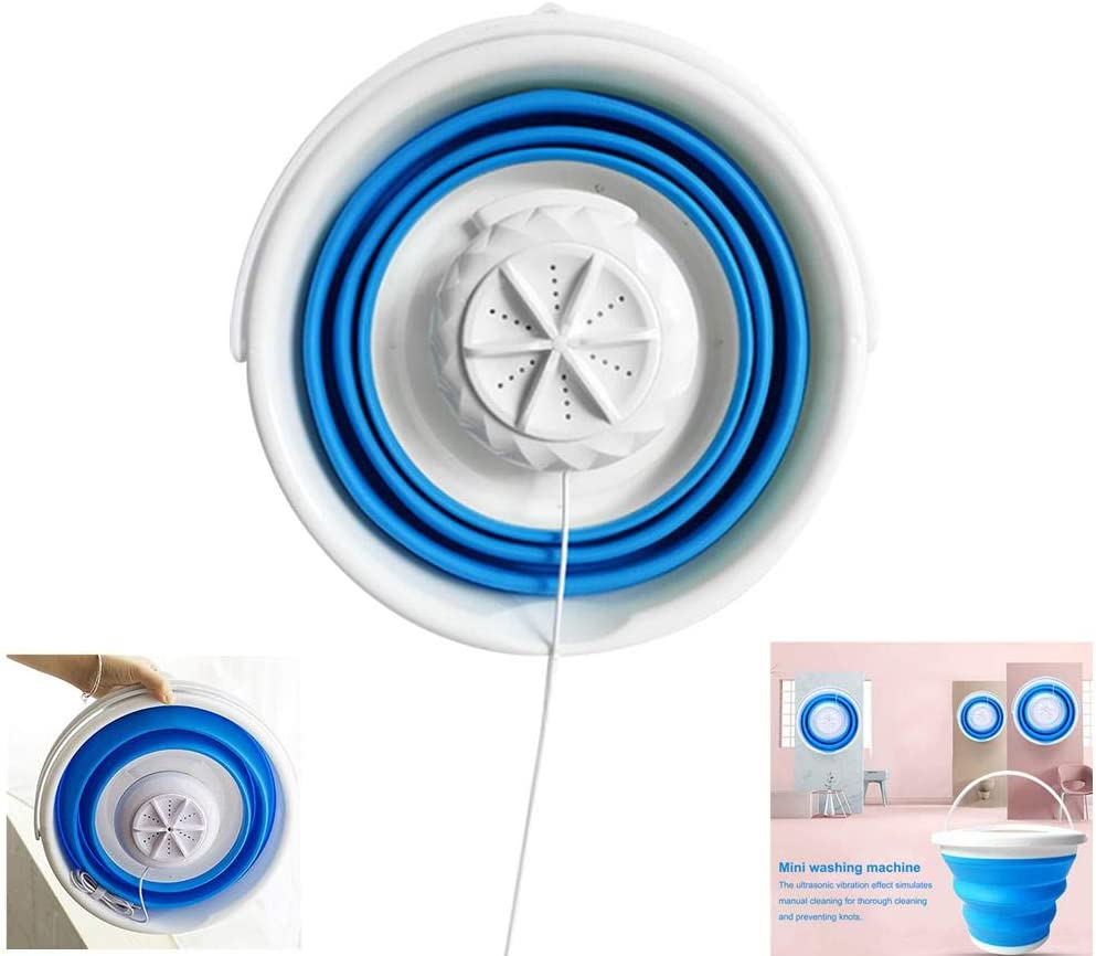 Portable Mini Washing Machine With Foldable Tub portable compact ...