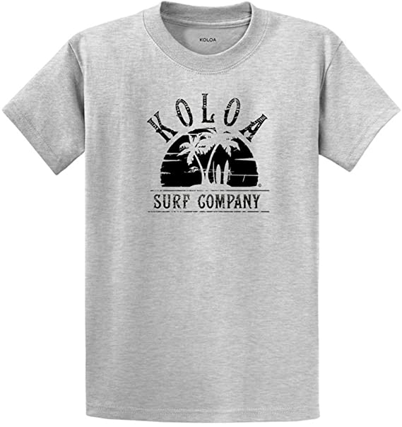 Joes USA Koloa Surf Atardecer Logo Camisetas en Regular, ...
