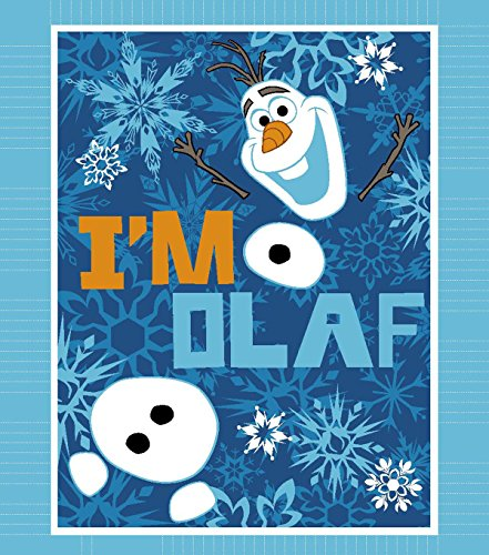 Disney Frozen No Sew Fleece Throw Kit - I'm Olaf by Disney
