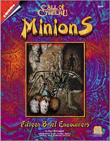 Minions: Fifteen Brief Encounters (Call of Cthulhu)