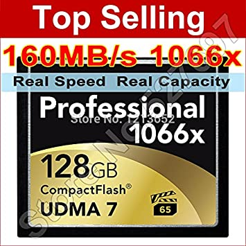 MU profesional Compact Flash CF-tarjeta de memoria 64 GB 128 ...