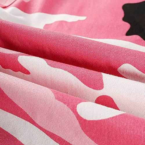 Cargo Beikoard Jeans Outdoor Camouflage Camo Occasionnels Vetement Pantalons Rose Jogging Pantalons de Sport Femmes Jeans Mode FwrUdxXqF