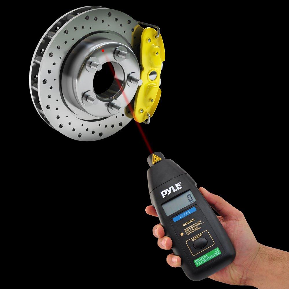Pyle Digital-Anemometer PMA85 Messung von Wind und Temperatur