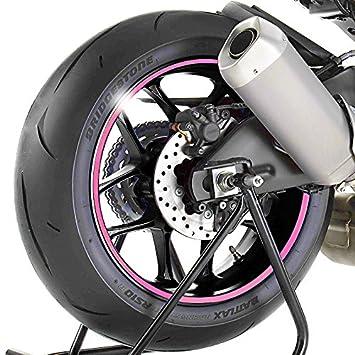 Adhesivos para Llantas Moto Ducati Monster 620 rosa: Amazon ...