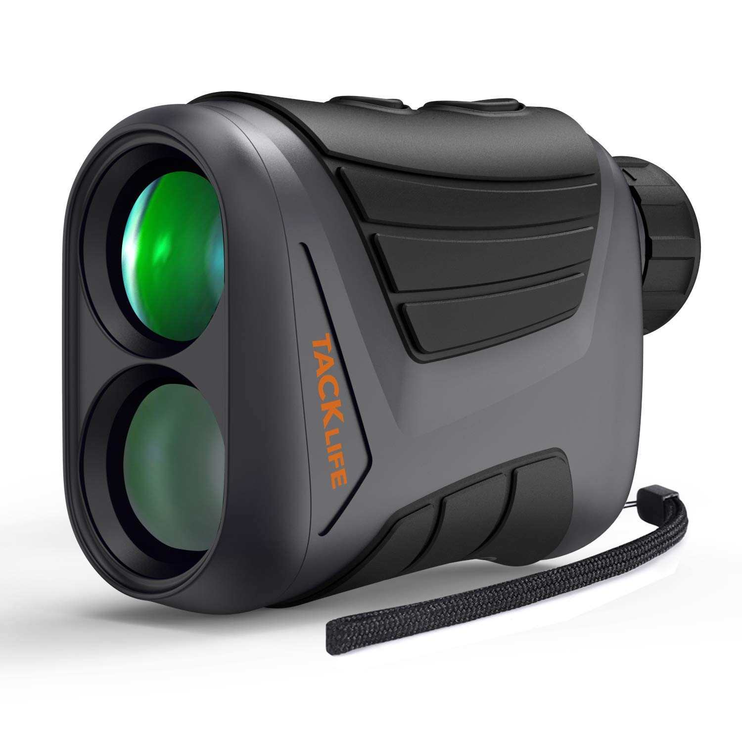 Golf Rangefinder 900 Yards- Tacklife 7X Laser Range Finder with Pinsensor, Range/Speed/Scan Mode for Golf, Hunting, Boating, Hiking, USB Charging Cable and Wrist Strap Included - MLR01 by TACKLIFE