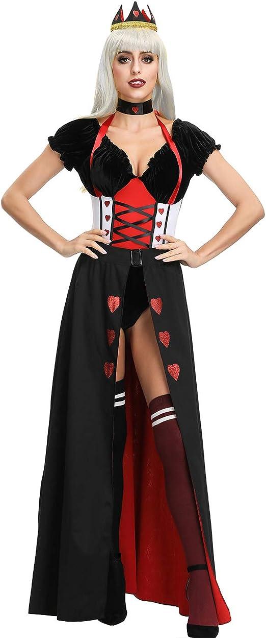Disfraz de Halloween para mujer Palacio Queens Cos Medieval ...