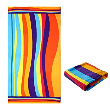 Extra Large Beach Towels.Jingmu Oversized Microfiber Square Beach Towel Extra Large Big Beach Blanket 40 X 72 Outdoor Swim Microfiber Towel Thick Yoga Mat Personalized