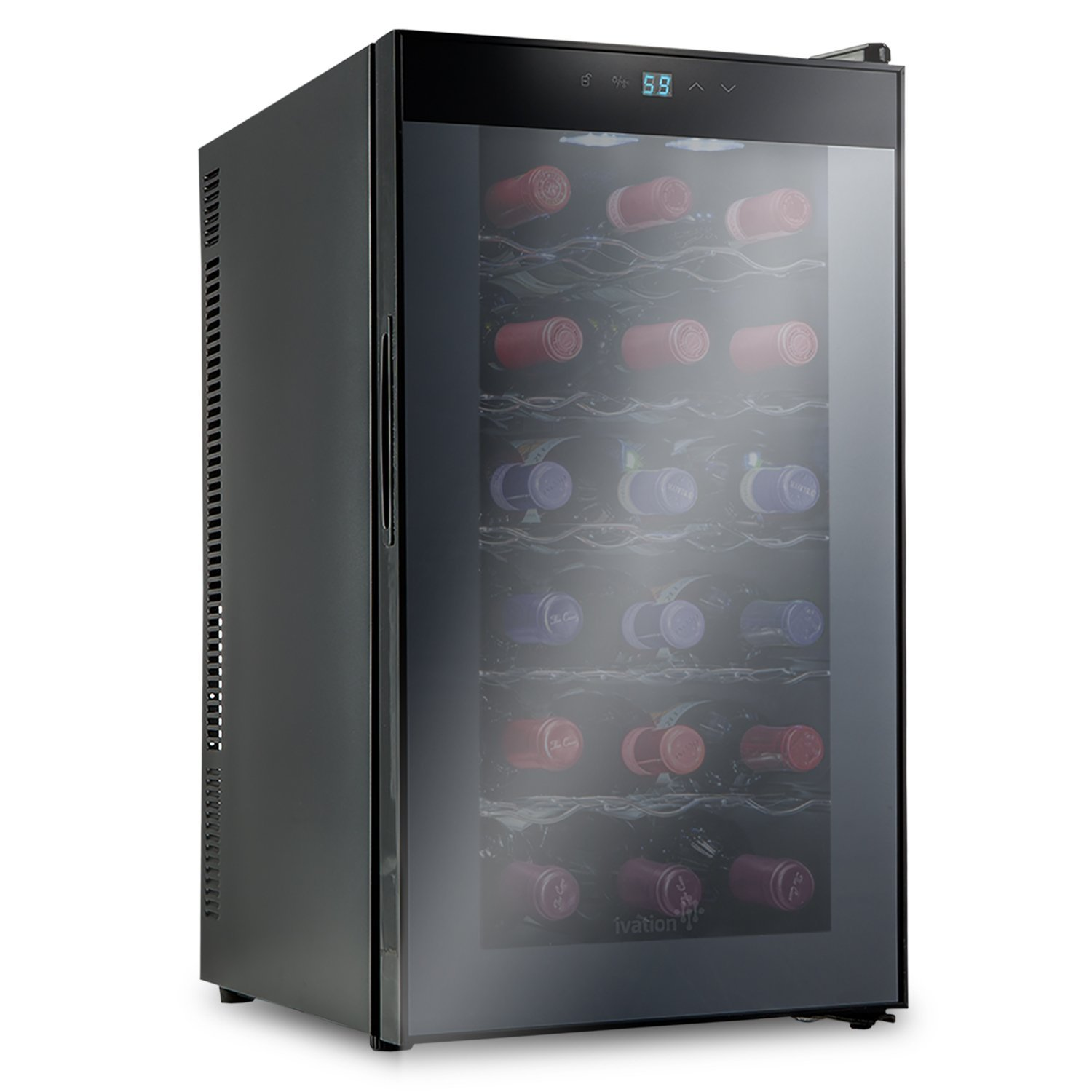Ivation 18 Bottle Thermoelectric Wine Cooler Renewed
