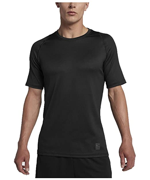 245151aa9e NIKE Pro Men s Colorburst 2 T-Shirt - Blk Atmosphere Grey White