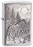 zippo lighter with pipe insert - Zippo Pipe Lighter: Timberwolves Emblem - Brushed Chrome 20855PL