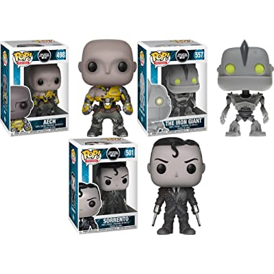 Funko POP! Ready Player One: Aech + The Iron Giant + Sorrento – Stylized Movie Vinyl Figure Bundle Set NEW