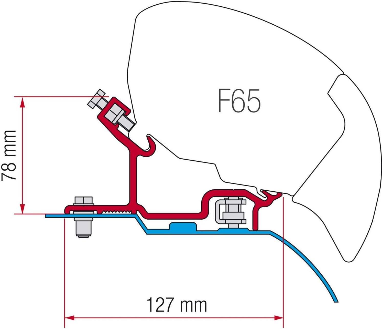 S Adapter KIT Fiat Ducato H3 ab 2006 Fiamma F 65