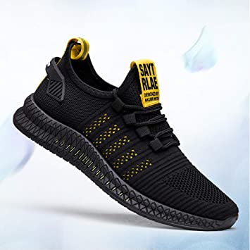 Zapatillas transpirables de malla ligera con amortiguación de aire, zapatillas deportivas para hombres y para correr zapatillas deportivas para correr cómodas zapatillas deportivas transpirables de m: Amazon.es: Deportes y aire libre