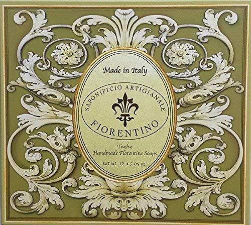 Saponificio Artigianale Fiorentino Giardino Reale Filigree 12 X 7.05 Oz. Soap Gift Set From Italy