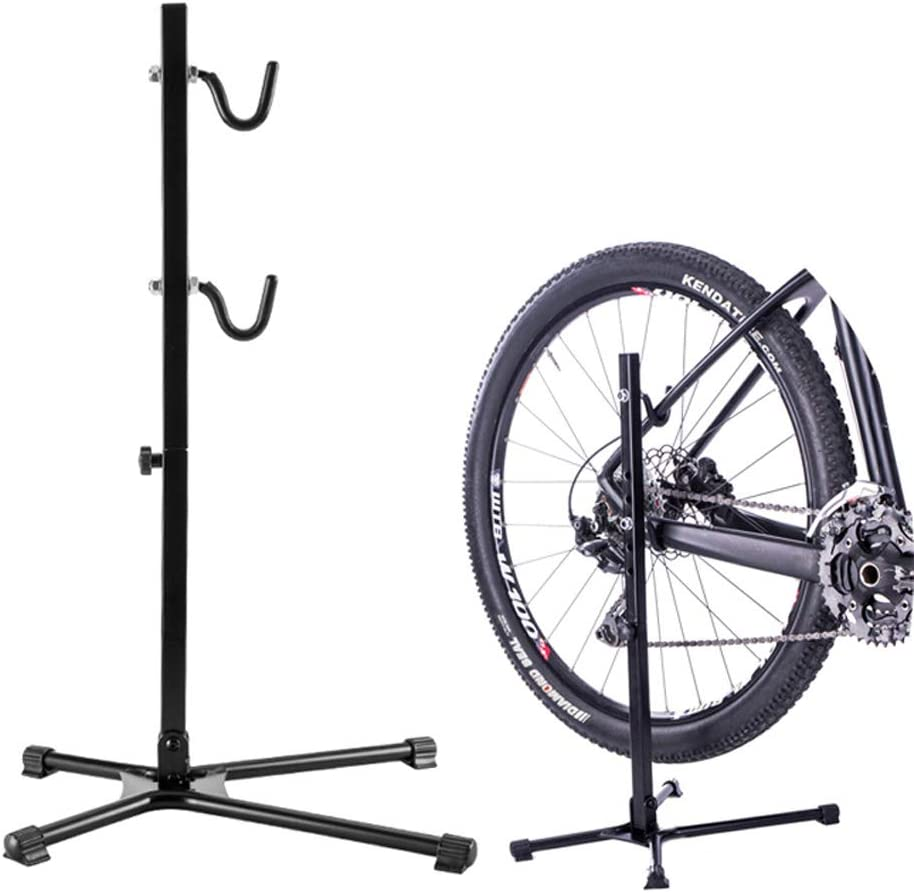 Adjustable Bicycle Fixing Stand Bike Repair Bracket Portable Quick Release Rack