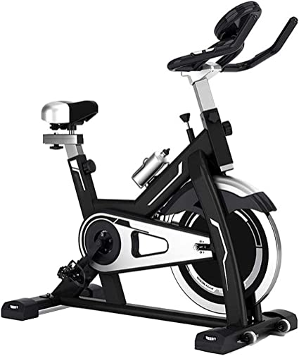 Bicicleta Ritmo Cardíaco Fitness Estacionario Ciclo Entrenador Indoor Ciclismo Bicicleta Ejercicio Spinning Bike con Pantalla LCD Entrenamiento en Interiores: Amazon.es: Deportes y aire libre