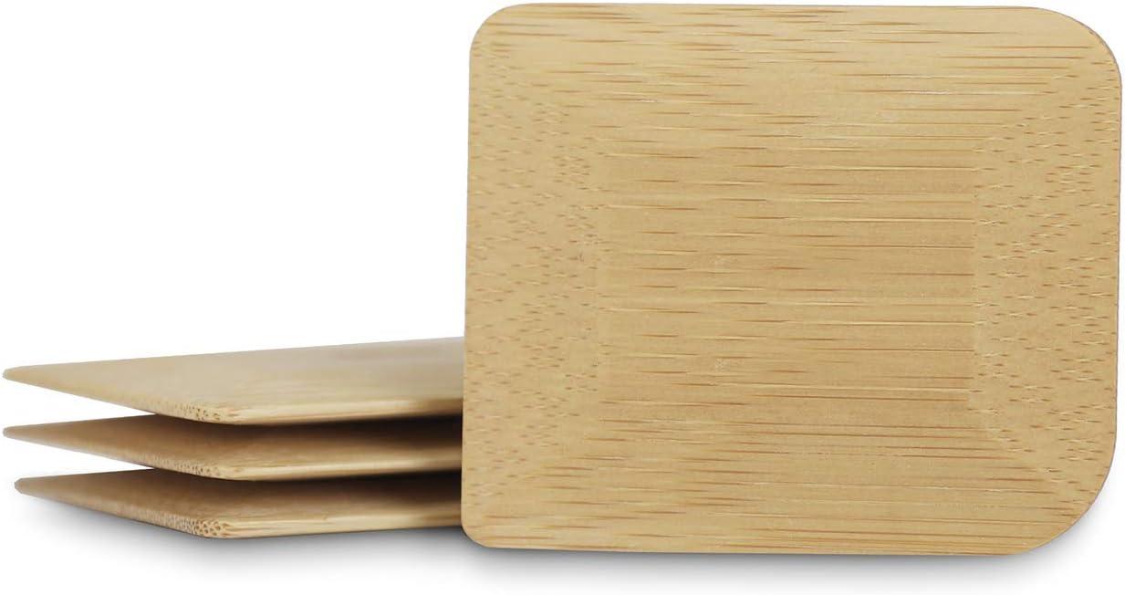 pan o panecillos Panera para Croissants aprox Panera de metal con tapa ecol/ógica de bamb/ú Recipiente con tabla de cocina 33 x 21 x 16 cm Bambuswald/©