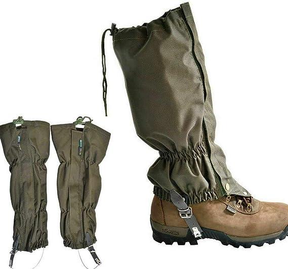 Waterproof Hiking Camping Hunting Anti Snake Bite Boots Legging Gaiters 1-10Pair