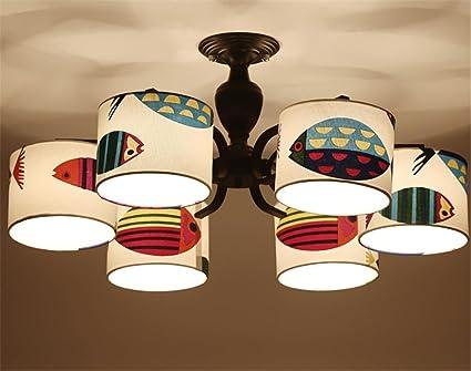 Kronleuchter Lampe ~ Kronleuchter cartoon dekorative beleuchtung led nähleuchte