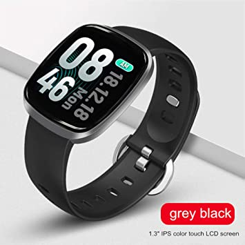 ZXCVBW Smart Watch Hombres Presión Arterial Impermeable ...